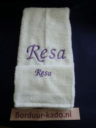 Afbeeldingen van Handdoeken set 5 met naam