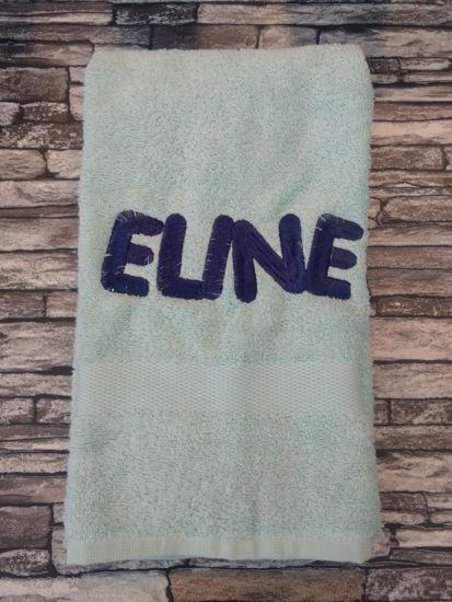 Afbeeldingen van Handdoek 50x100cm met naam en/of afbeelding