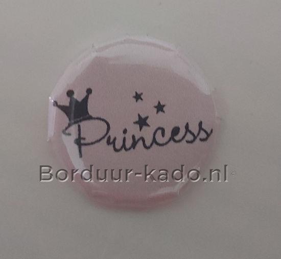 Afbeeldingen van Button 25 mm Princess