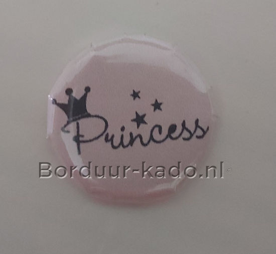 Afbeeldingen van Button 58 mm Princess