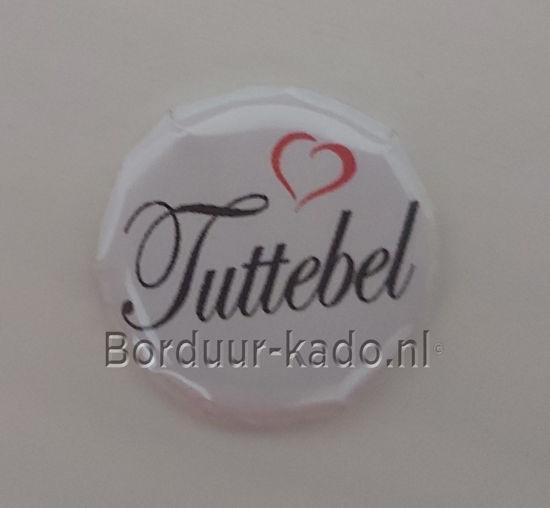 Afbeeldingen van Button 25 mm Tuttebel